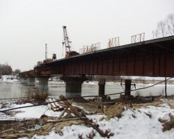 Капитальный ремонт моста через р.Б.Черемшан в г.Димитровграде Ульяновской области.